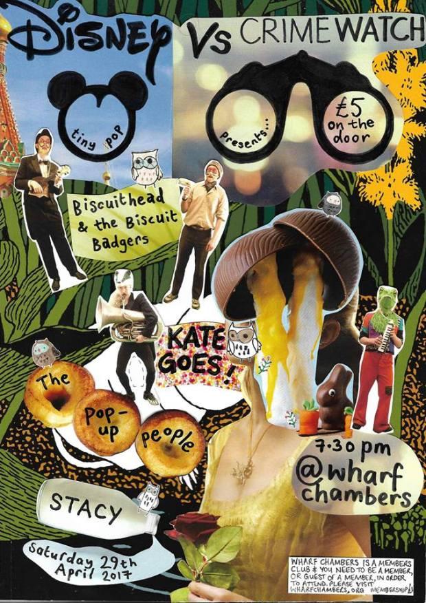 KateGoes Leeds 29th April Poster